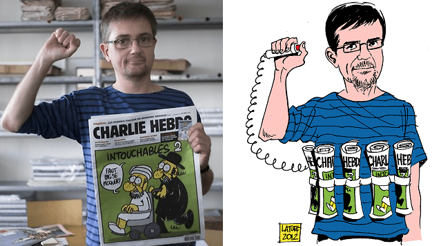 Stéphane Charbonnier assasinated today at charlie hebdo