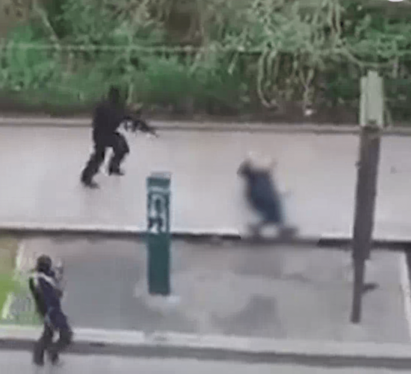 Charlie Hebdo - murder of injured french police officer