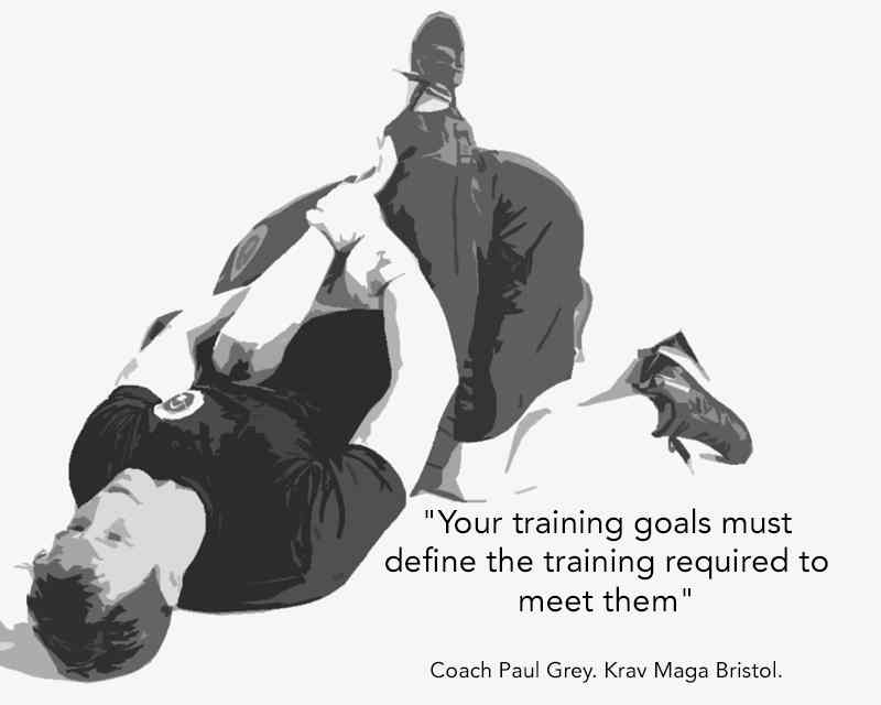 Krav maga bristol training goals